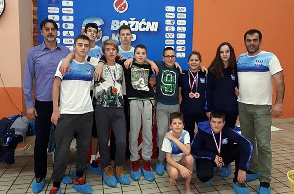 """Пливачи КВС """"Леотар"""" освојили пет медаља у Мостару"""