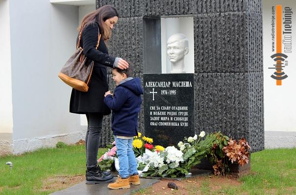 Обиљежене 23 године од смрти Александра Маслеше