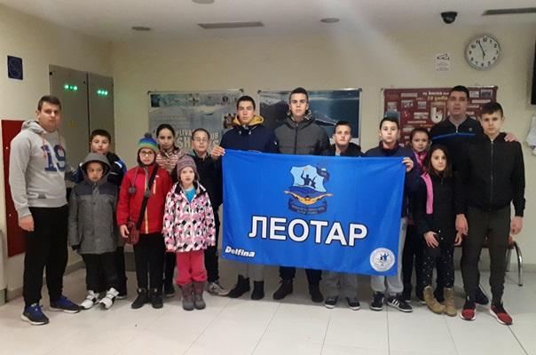 """Пливачи ПВK """"Леотар"""" освојили 12 медаља у Сарајеву"""