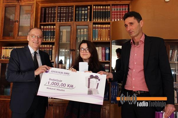 Nikolini Ninković uručena nagrada za najbolji literarni rad