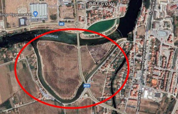 Регулацијом Ћатовића крака – до простора за нову урбану зону