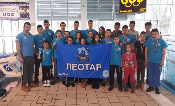 Пливачи освојили 40 медаља