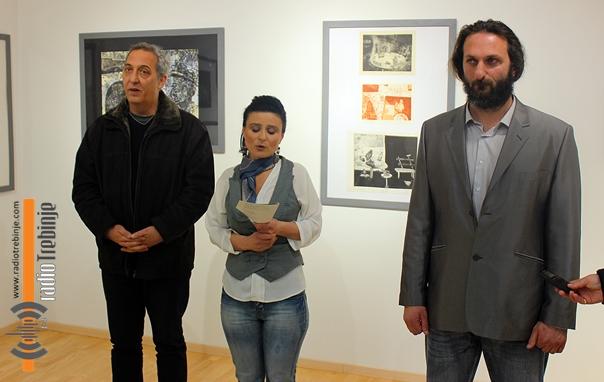 Цртежи и графике Богдана Радовића