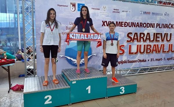 """Пливачи KВС """"Леотар"""" успјешни на пливачком такмичењу у Сарајеву"""