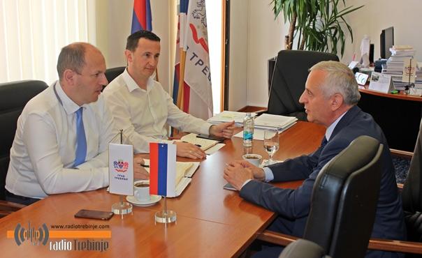 Конзул Републике Србије на пријему код градоначелника Петровића