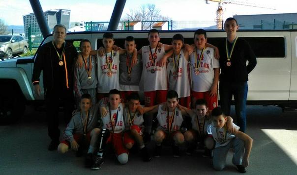 Млађи пионири КК Леотар успјешни на турниру у Сарајеву
