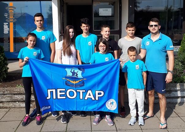 Осам медаља за ПВК Леотар на купу у Крушевцу