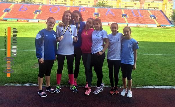 Četiri medalje za mlade atletičare Leotara na prvenstvu BiH