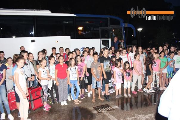 Требиње дочекало дјецу са Косова