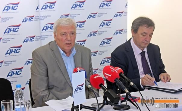 Pavić u Trebinju: Hercegovina će dati jednog narodnog polanika iz DNS-a