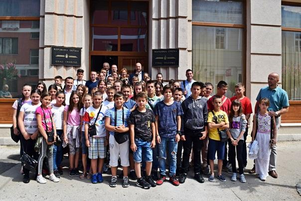 Дјеца са Kосова одушевљена боравком у Требињу