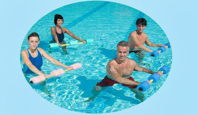 Аква - аеробик од уторка на базену Бање