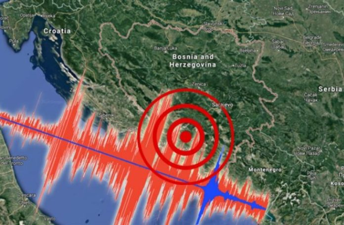 Zemljotres u Hercegovini jačine 3,6 stepena po Rihteru