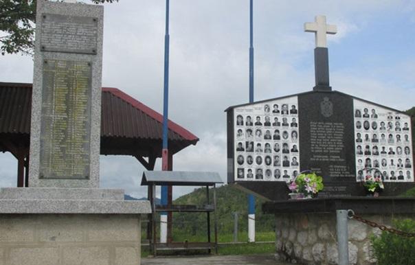 Служен помен Србима убијеним на Залазју