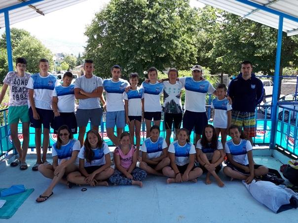 Пливачима Леотара 17 медаља