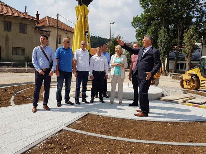 Премијерка Српске у Невесињу; Уложено више од 60 милиона КМ