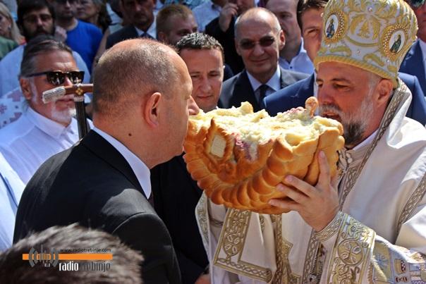 Trebinje proslavlja Sveto Preobraženje: Vladika Grigorije pozvao na ljubav i poštovanje