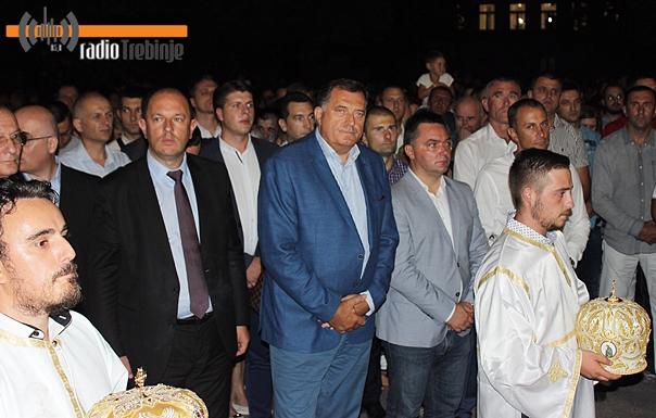 Додик: Преображење величанствен празник у Требињу