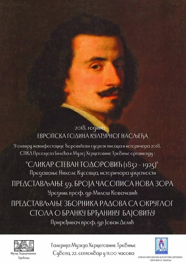Predavanje istoričara umjetnosti Nikole Kusovca o slikaru Stevanu Todoroviću