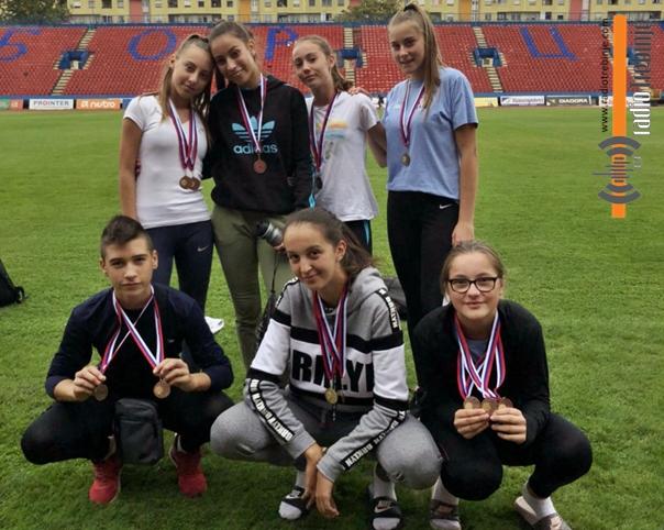Најмлађи требињски атлетичари успјешни на првенству РС
