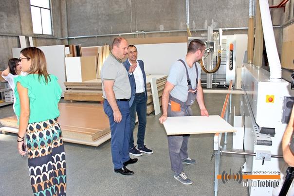Градоначелник Петровић посјетио погоне Душка Пантовића: Стојимо на располагању реалном сектору
