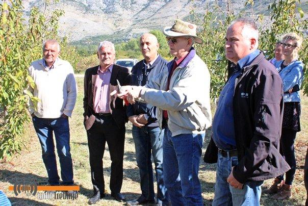 Radionica i predavanje o uzgoju trešnje: Američki profesor u posjeti Trebinju