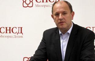 СНСД: Срби никада нису прихватали подаништво и туторство, па неће ни сада Бањалука