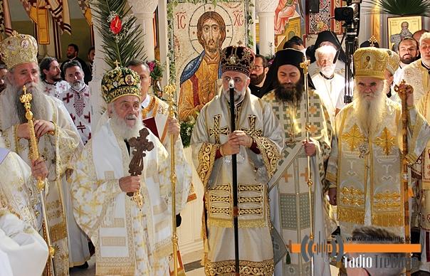 Патријарх Иринеј поручио епископу Димитрију: Наше је позвање да ширимо љубав - у свом и према другим народима