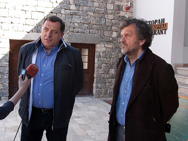 Додик: Први потез у Сарајеву биће постављање Кустурице за савјетника