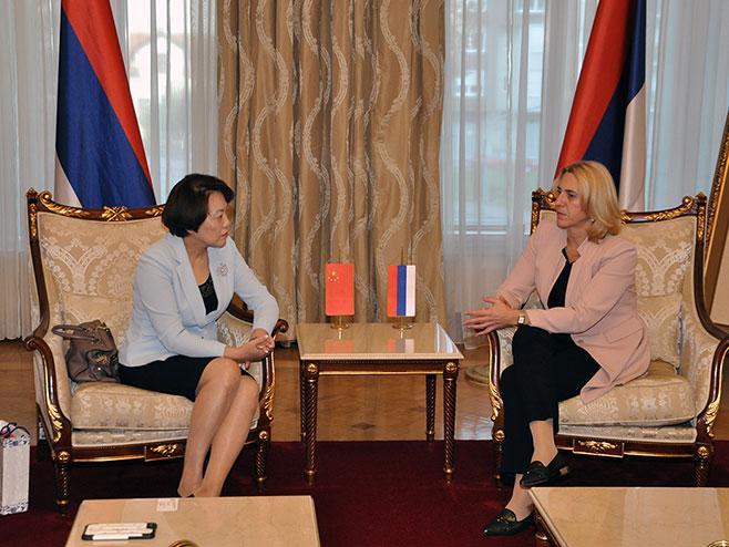 Влада Српске посвећена унапређењу сарадње са Кином