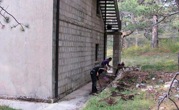 Počela obnova planinarskog doma na Ublima