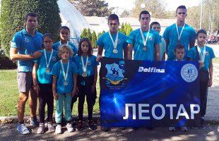 Пливачима ПВК Леотар 15 медаља на купу у Ваљеву