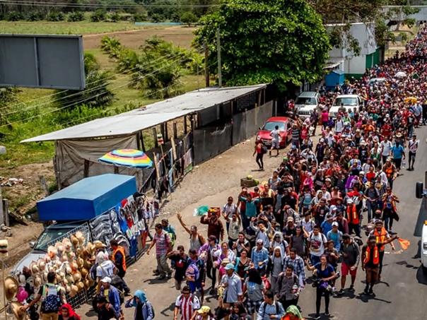 Migrantski karavan stigao do granice SAD