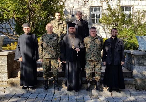 Причешће војске у Билећи