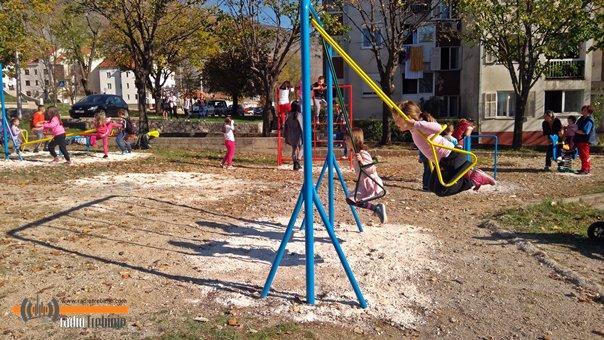 Отворено игралиште у Горици
