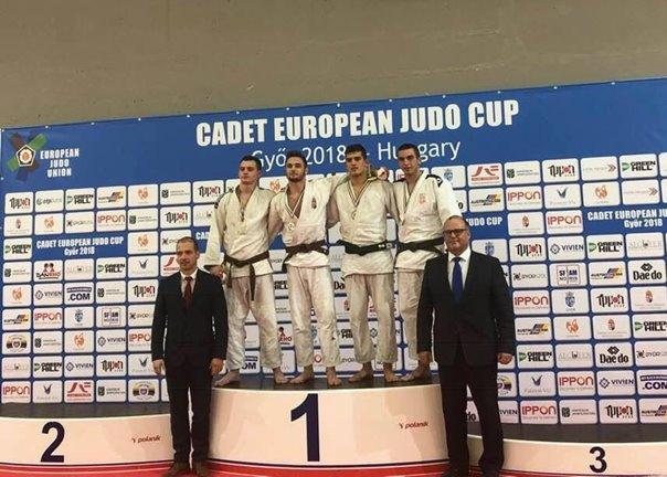 Божидар Вучуревић освојио бронзу на Европском џудо купу у Мађарској