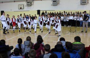 Новогодишњи концерт у Основној школи Свети Василије Острошки