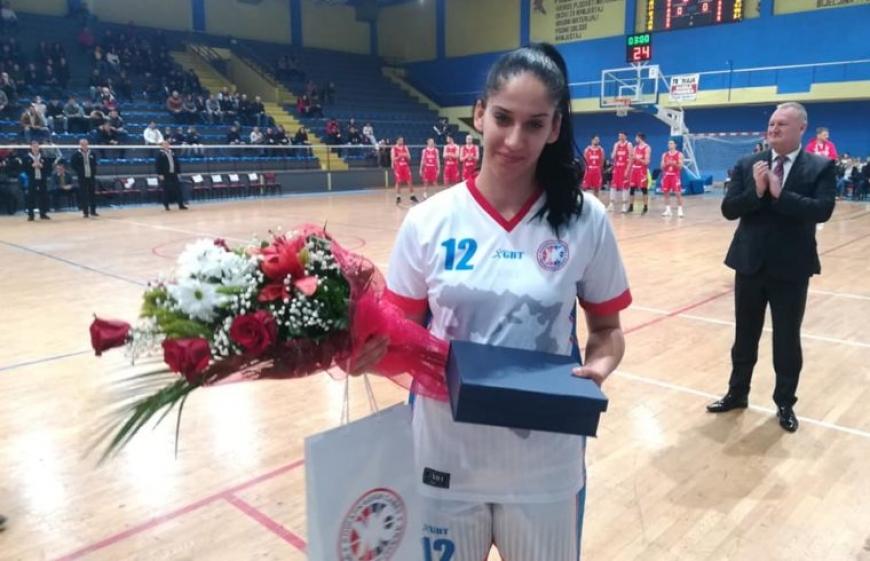 Невесињка Николина Зубац најбоља кошаркашица РС
