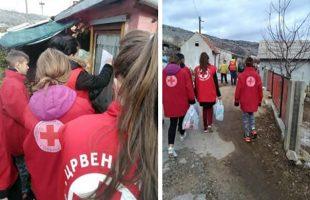 Градска организација Црвеног крста Требиње: Подијељени пакети хране најугроженијима