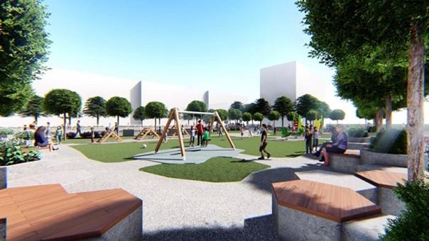 Почела изградња игралишта у насељу Тини: Ускоро реконструкција терена и у осталим насељима