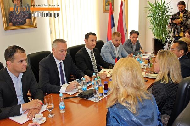 Министар Пашалић у радној посјети Требињу