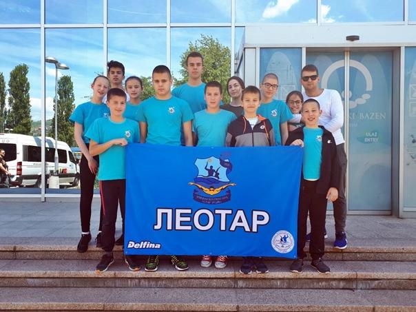 Пливачи освојили 11 медаља у Сарајеву
