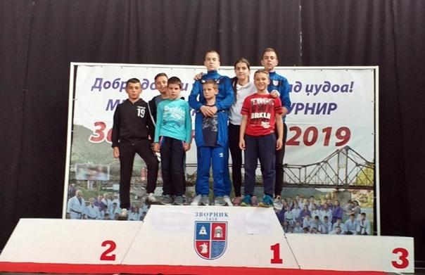 Џудисти Леотара освојили три медаље у Зворнику