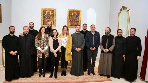 Свештеници Епархије захумско-херцеговачке и приморске у мисији изградње мира