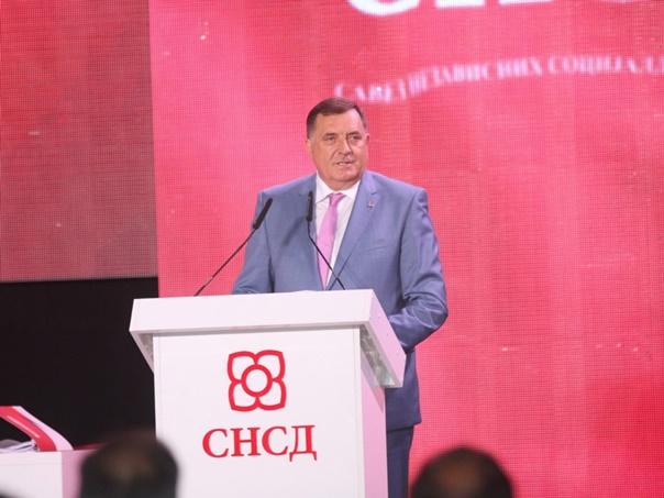 Dodik ponovo izabran za predsjednika SNSD-a