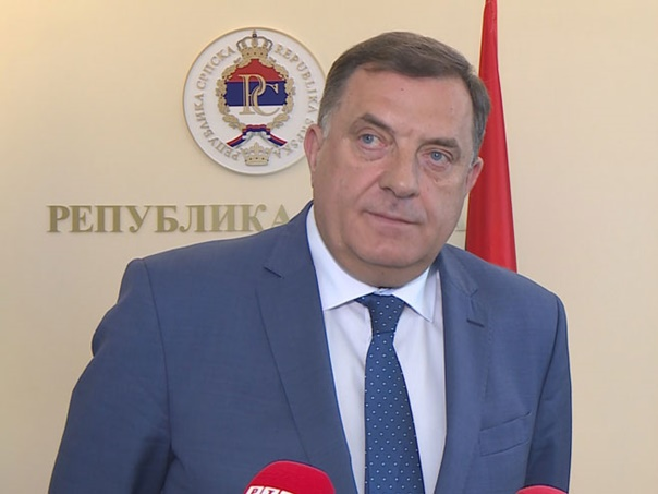 Dodik: Homanova radila na štetu Republike Srpske, a time i protiv BiH
