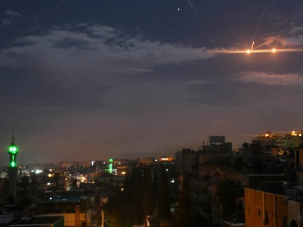 Sirijski PVO odbio novi izraelski raketni napad