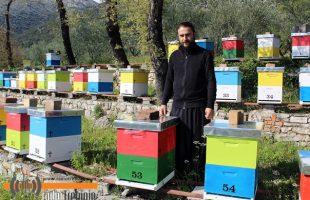 Пчеларење тврдошких монаха: ПОЛОВИНУ МЕДА ПОКЛОНИМО
