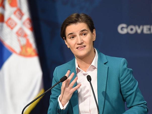 Brnabić: EU da reaguje na zabranu ulaska Vulinu na Kosmet