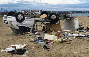 Jako nevrijeme u Grčkoj, vjetar nosio krovove, ima mrtvih (FOTO)